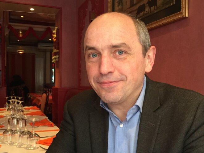 Pierre Larrouturou, co-fondateur de Nouvelle Donne © Yannick Sanchez