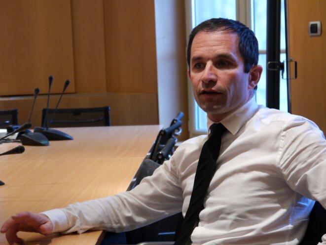 Benoît Hamon: «C'est vrai, je pense que je me suis trompé»