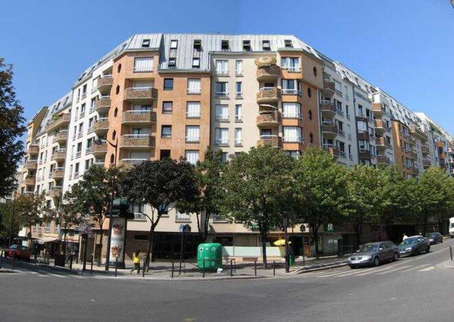 Vue du quartier de la Grange-aux-Belles, 10e
