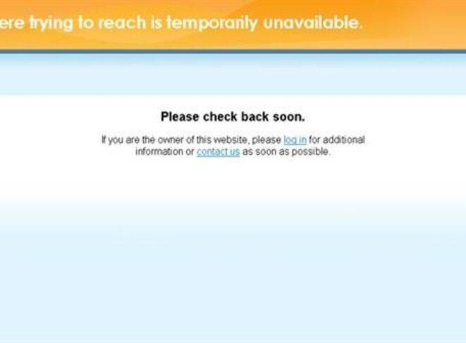 le site Bananaleaks piraté le 28 janvier 2013 © El Universo