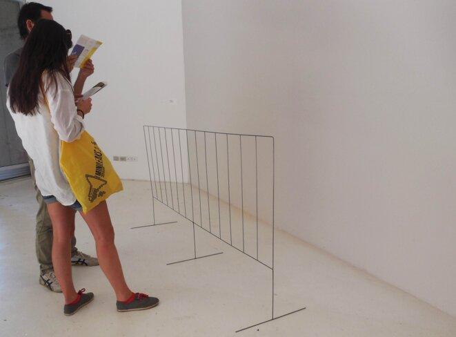 Reacción (Réaction). Pour l'Argentin Jorge Macchi les vraies frontières ne sont pas physiques  © Laurie Fachaux