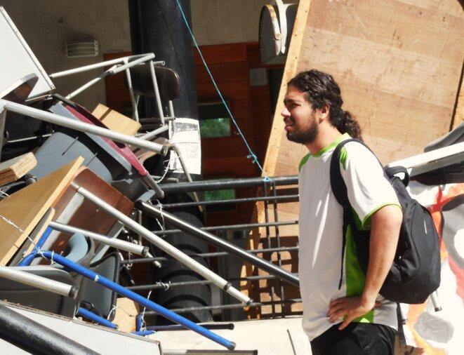 Felipe Orellana aurait dû commencer sa 5ème année de médecine en avril. Aucune université n'a accepté son dossier.
