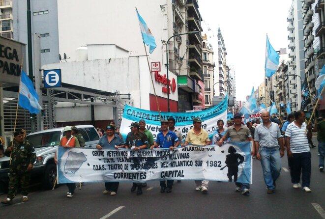 Manifestation à Buenos Aires, 6 mars 2012 © Laurie Fachaux