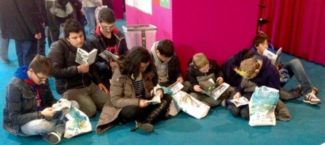@ecoleplusparis au Salon du Livre de Paris. La Culture contre les handicaps