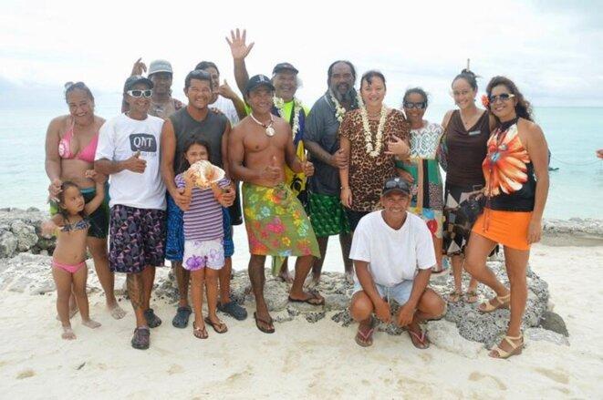 Isma Patu Huukena (5ème debout en partant de la droite).