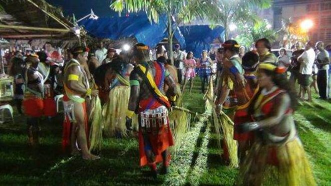 IVème Journées des peuples originels (Place des Palmiste Cayenne 08/08/2014). © R. Charlotte.