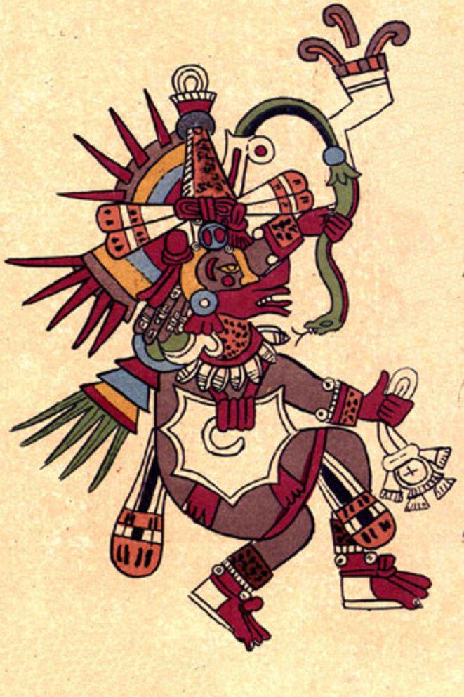 Quetzalcoatl © Codex Borbonicus, 16ème siècle