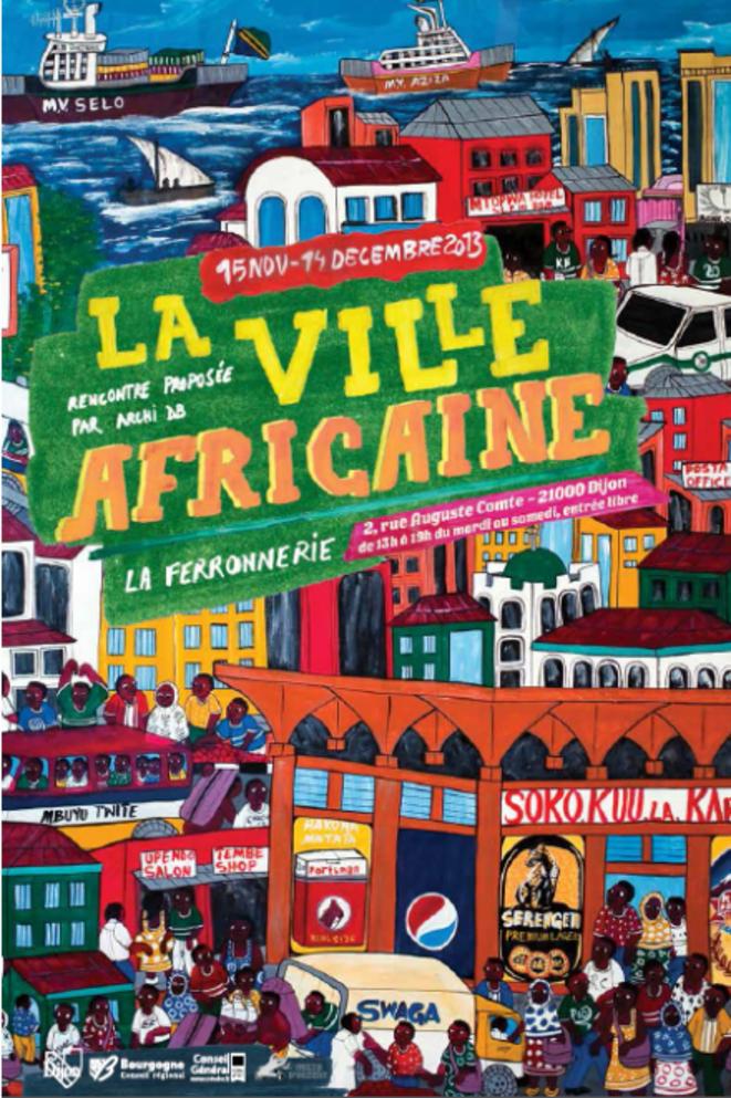La ville Africaine © Moke