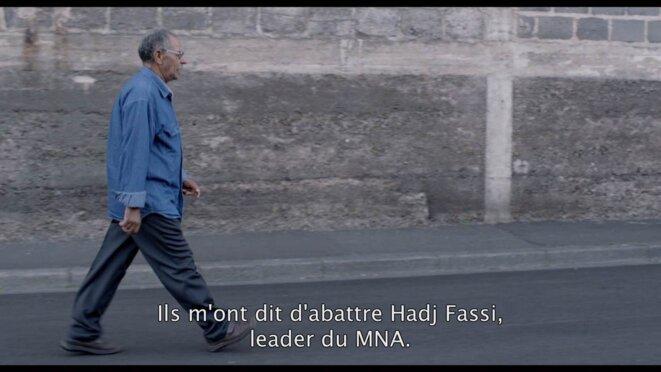 El Hadi, membre d'un Groupe Armé du FLN, en route pour sa première mission © Damien Ounouri / Kafard Films 2012