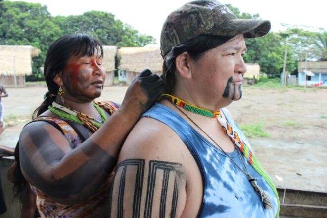 Impactés par les barrages hydroélectriques aux USA, les indigènes échangent leurs expériences © xingu vivo