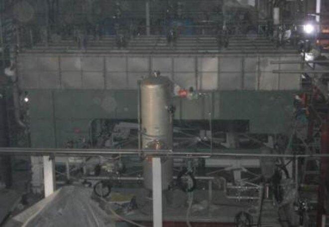 Système de décontamination à Fukushima Daiichi