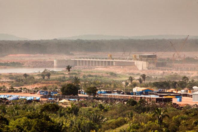 Usine hydroélectrique de Jirau, État de Rondônia  Photo: Marcelo Min ©  Photo: Marcelo Min