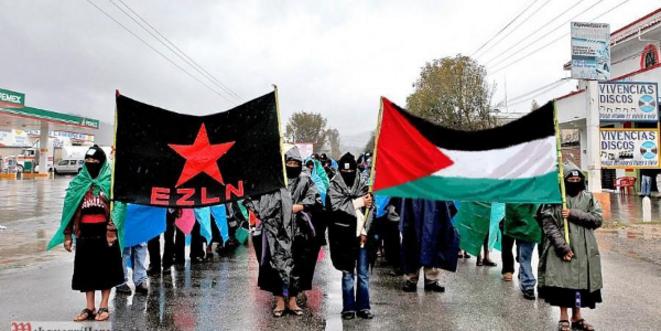© Les zapatistes solidaires des gazaoui-e-s