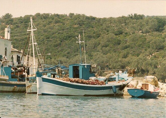 Xanthe bateaux de pêche © Marguerite