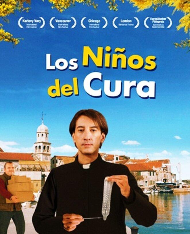 Affiche de la version espagnole...