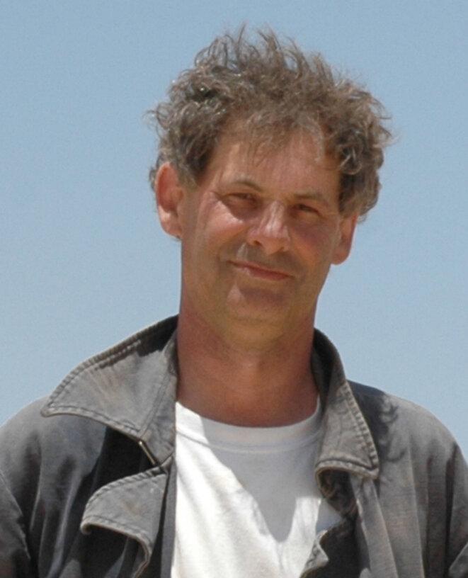 → Marc Gabolde, sur le chantier de fouille d'Amarna.