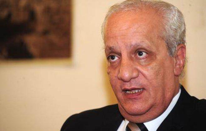 Le docteur Mohammed Ibrahim ministre d'Etat égyptien aux Antiquités