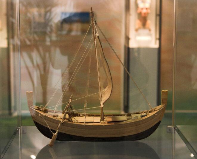 → Maquette du navire exposée à Bodrun.