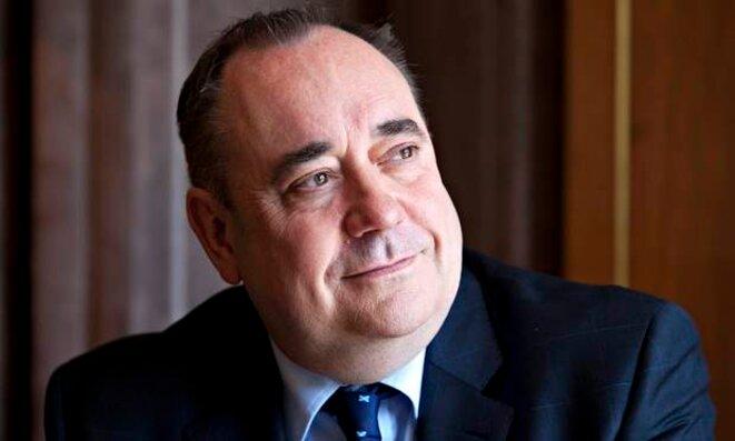 Alex Salmond, premier ministre écossais et leader des indépendantistes.