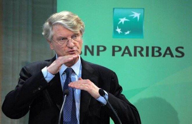 Baudoin Prot, président de BNP Paribas.