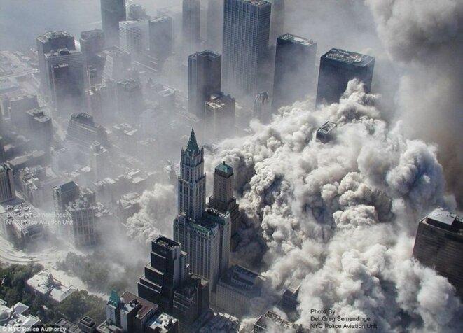 New York, le 11 septembre 2001. © (dr)