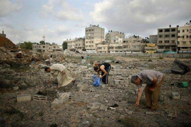 Ville de Gaza, 13 juillet 2014.
