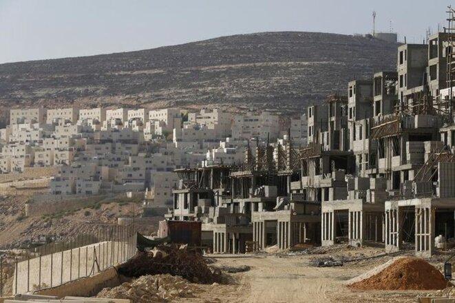 La colonie juive de Givat Zeev, près de Jérusalem, en Cisjordanie, en 2013.