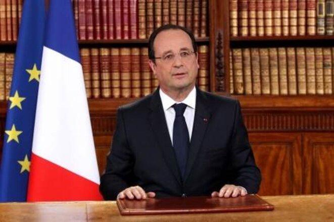 Allocution présidentielle, lundi 26 mai, au lendemain de la défaite aux élections européennes.