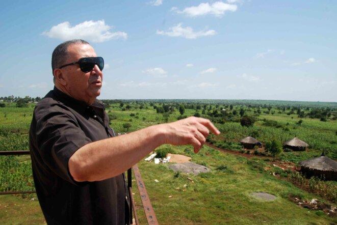François Achour, manager de l'usine et de ses 55.560 hectares.
