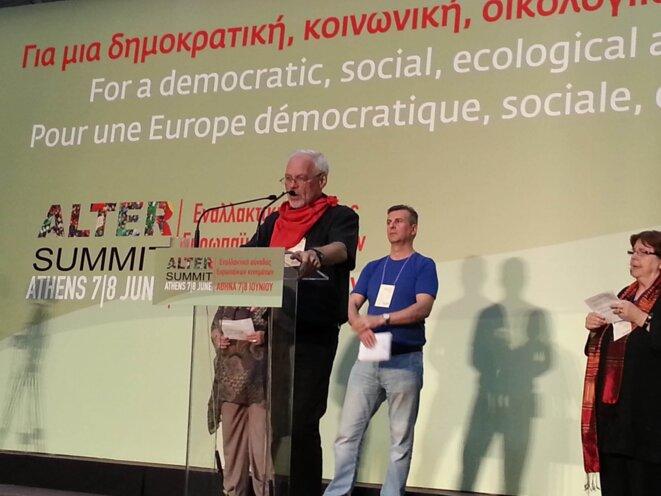 A Athènes, l'«altersommet» veut poser les bases d'une autre Europe