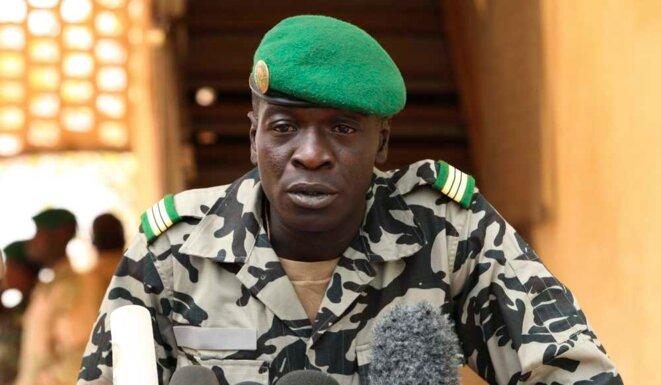 Le capitaine Sanogo, auteur du putsch de mars 2012. © (dr)