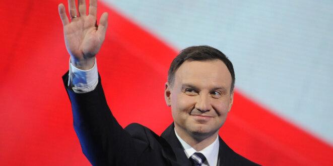 Andrzej Duda, 42 ans, responsable du PiS et élu président en mai 2015.