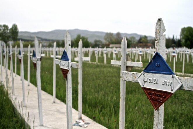 Le cimetière militaire français de Bitola. © Laurent Geslin