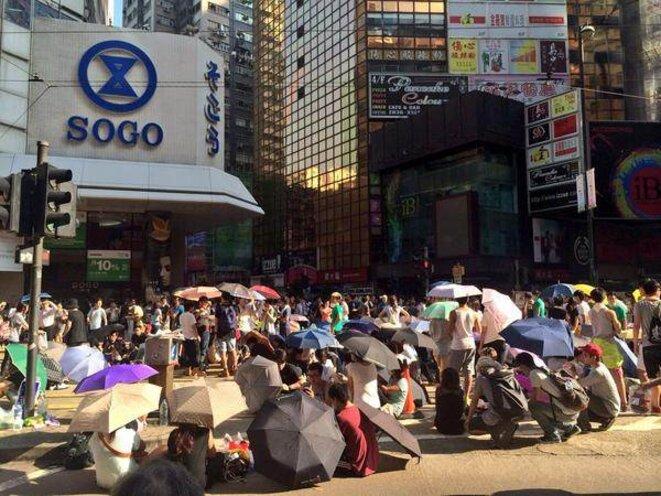 Hong Kong, le 29 septembre. © (dr)