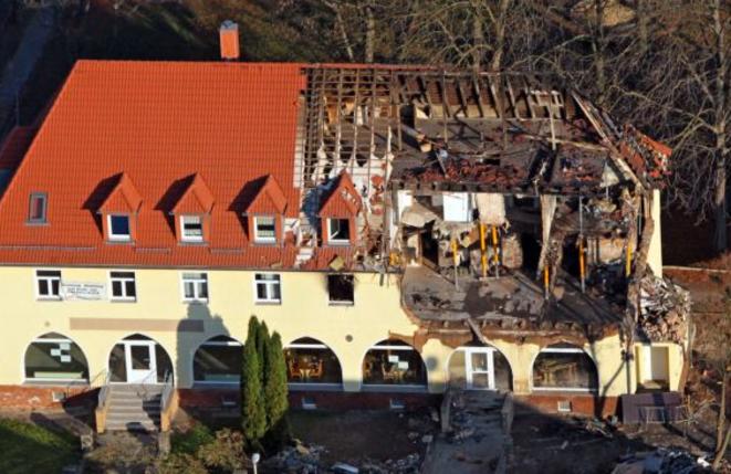 La maison du vilage de Zwickau (Saxe).