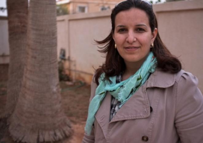 Hana el-Galal, ancienne membre du CNT. © (TC)