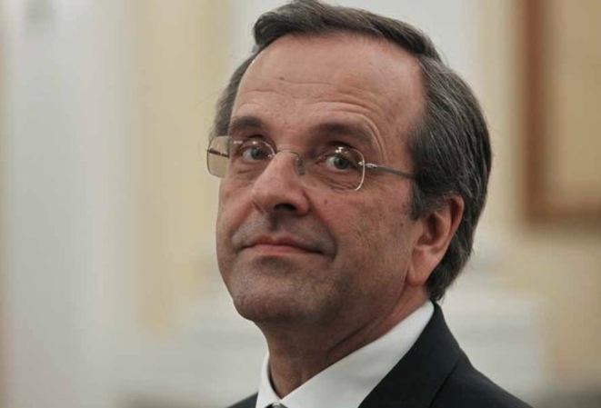 Antonis Samaras, premier ministre. © (Reuters)
