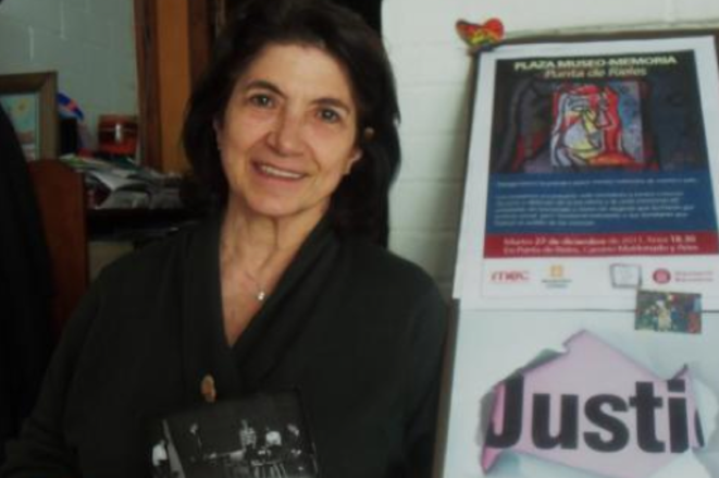 Anahit Aharonian, torturée et emprisonnée durant douze ans.