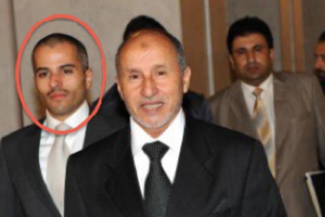 Obeidi, à gauche. © (dr)