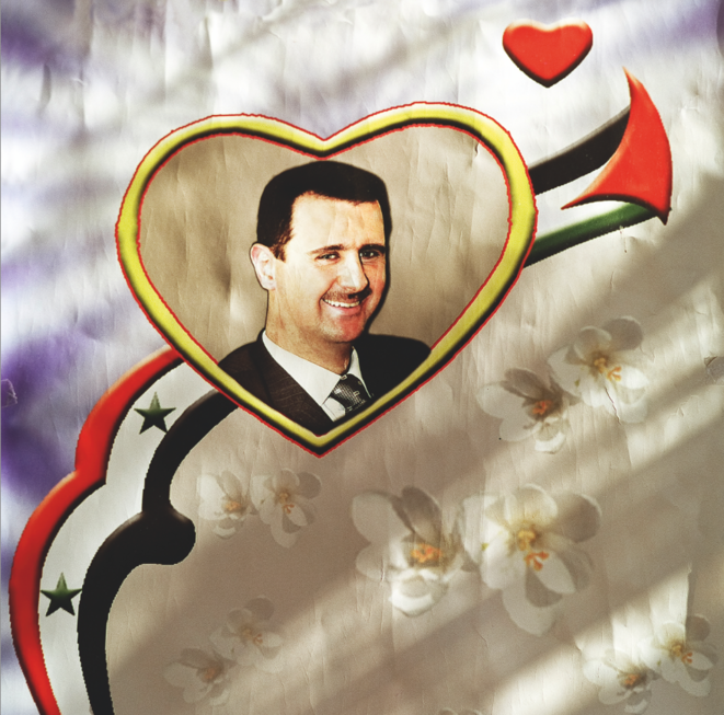 Bachar el-Assad. © Nicolas Righetti