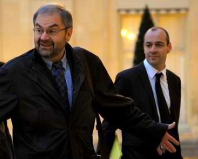 Chérèque et Berger. © (Reuters)