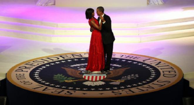 Michelle et Barack Obama, le 21 janvier. © (dr)