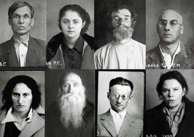 Victimes avant leur exécution. © (dr)