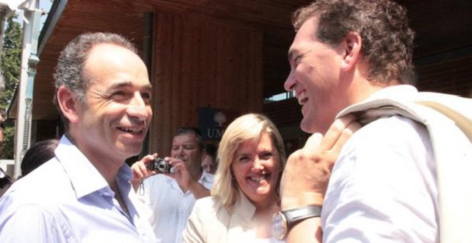 Jean-François Copé avec Michèle et Philippe Tabarot. © J-F. Copé / Flickr