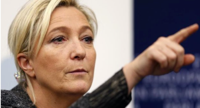 Marine Le Pen. © (Reuters)