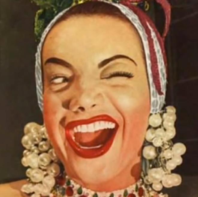 La chanteuse Carmen Miranda.