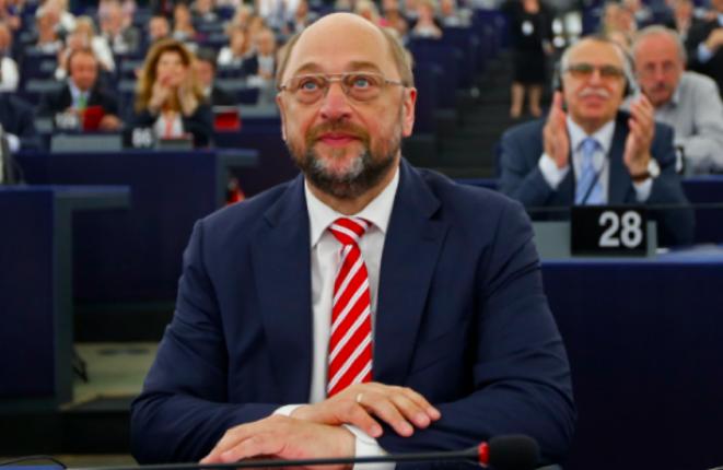 Martin Schulz, président du Parlement. © Reuters