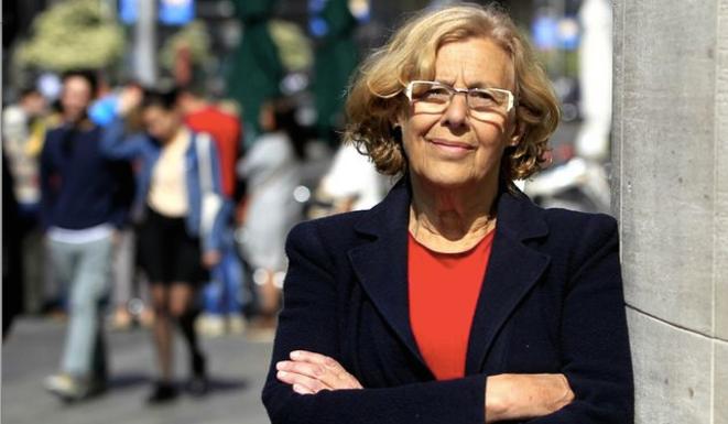 Manuela Carmena nouvelle maire de Madrid. © (dr)