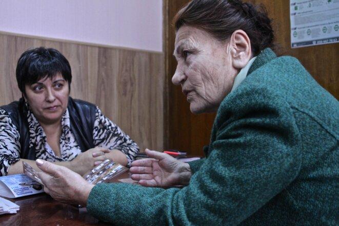Diliarda Kudusova et Minaver Idrisova. © Laurent Geslin