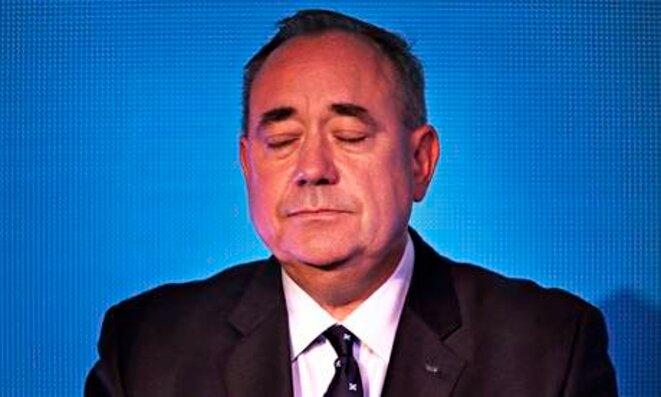 Le premier ministre écossais Alex Salmond a annoncé sa démission. © Reuters
